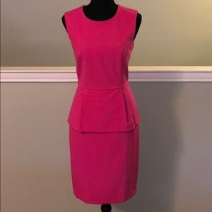 Calvin Klein pleated suit dress
